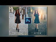Photoshop Tutorial : Transform Normal Photo To Amazing photo Photoshop Design, Dicas Do Photoshop, Basic Photoshop Tutorials, Tutorial Photoshop, Photoshop Youtube, Photoshop Actions, Adobe Photoshop, Photoshop Website, Ideas