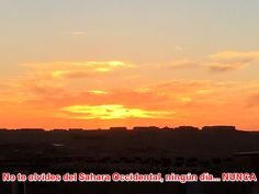 No te olvides del Sahara Occidental, ningún día... NUNCA #SaharaOccidentalLibre #ReferéndumYA #ElSaharaEsNuestraCausa