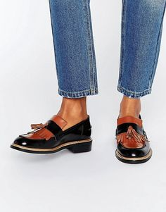 ASOS MILANO Premium Leather Loafers