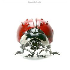 Edouard Martinet's Metal Animals Sculptures I