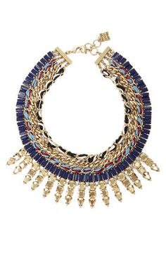 How amazering is this piece <3 #bcbg #statementnecklaces #fall2014