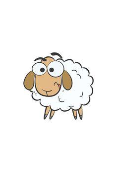 Creative Gift Wrapping, Creative Gifts, Sheep Drawing, Eid Adha Mubarak, Eid Stickers, Eid Crafts, Cute Sheep, Easy Projects, Anime Art Girl