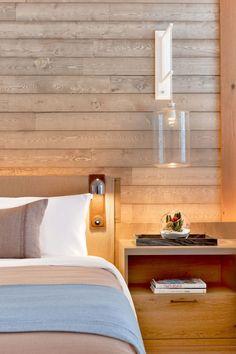 Wall sconce- master bath- Meyer Davis — 1 Hotel South Beach