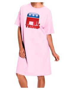 TooLoud Trump Bubble Symbol Adult Wear Around Night Shirt and Dress