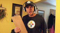 Pittsburgh Dad goes trick or treating as Steelers Offensive Coordinator Todd Haley :)