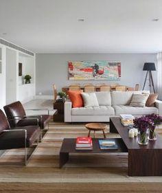 Decoração de: Sala de estar - living; Casa de Valentina by CasaDeValentinaBlog