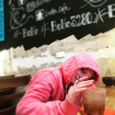 Fraser enjoying a hot chocolate at @bohemia_cafe #eat3280 #boho3280 #fraser  by radarballs