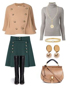 """""""Untitled #1810"""" by klassia ❤ liked on Polyvore featuring Chloé"""