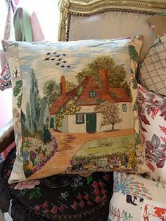 recycled vintage tapestry