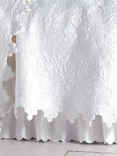 French Country vintage bed linen