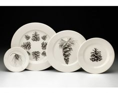 #LAURAZINDEL Dinnerware Set: Pine