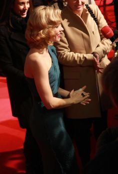 The shiny Rachel McAdams ...Voguish mode... She played Christine in Passion (2013)