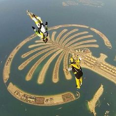 Amazing shot by @typ #gopro #skydive #dubai Likes? Double tap and comment. .  Use hashtag #goprophotography_ or #gpp_ to be feautered.   Tag your friends in the comment!