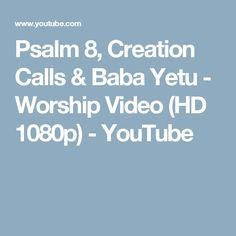 This [high quality HD music video is meant to take a look at the wonder and majesty of God's creation and to glorify Him. Music nature documentary of . Gods Creation, Hd 1080p, Psalms, Worship, Harvest, Meant To Be, Youtube, Youtubers, Youtube Movies