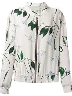 Compre Isolda Jaqueta bomber de seda floral em Isolda from the world's best independent boutiques at farfetch.com. Over 1500 brands from 300 boutiques in one website.