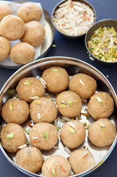 Deliciously yummy Aate ki pinni is a traditional Punjabi sweet made with whole wheat flour, semolina and dry nuts. Step by step Aate ki Pinni recipe. How to make Atte ki Pinni. Punjabi pinnie, atte ki pinni, atte ke ladoo, Aate Ki Pinni Recipe. Simple and easy wintry sweet.