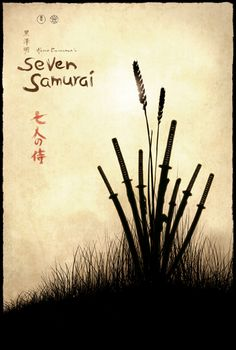 Seven Samurai Movie Poster by TheMadmind.deviantart.com on @DeviantArt