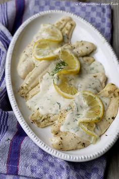 Experimente aus meiner Küche: Zitronen-Dill-Soße zu Backofenfisch