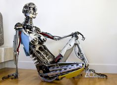 6 Amazing Creatures Created From Typewriter Parts | The Outlet: the Blog of Electric Literature