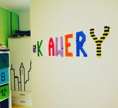 Bügelperlen Buchstaben