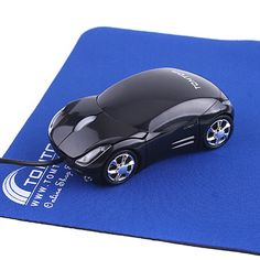 Cool Black Mini Wired 3D Optical USB #Car_Shape_Mouse