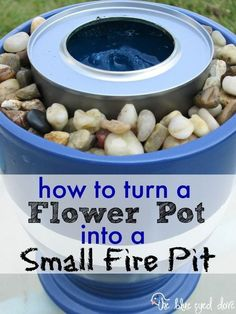 Make Your Own Small Fire Pit