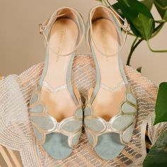 Rachel Simpson Flat Shoes | One Fab Day Best Bridal Shoes, Bridal Flats, Wedding Boots, Wedding Heels, Leather Ballet Flats, Leather Heels, High End Shoes, Flat Shoes, Sparkly Flats