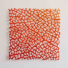 The Artwork of Meredith Woolnough: Square leaf studies
