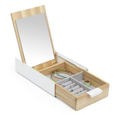 Buy Umbra Stowit Large Jewelry Box Black Walnut