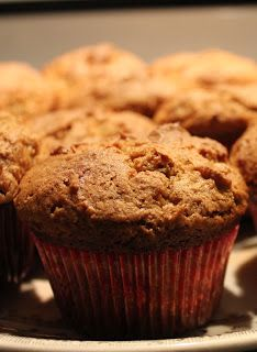 100 Delicious: Pumpkin Muffins. I substituted almond flour for Teff flour and tapioca starch for corn starch