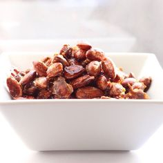 Crisp, crunchy almonds in an easy-to-make vanilla caramel coating.