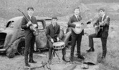 The Beatles in a promotional photo in the first half of the 60s