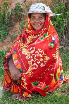 Betsileo woman, Madagascar