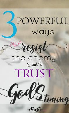 Peter teaches the key to resisting Satan is to trust God's timing. You CAN be UNdevourable! Scriptures for stength, wisdom from the Bible, spiritual warfare insight, truth from God's Word via @ChristiLGee