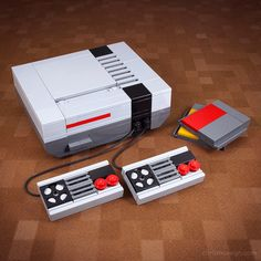 LEGO Nintendo - Retro Technology LEGO Kits by Chris McVeigh