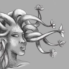 Another dryad experimenting with washes #inktober #inktober2017 #photoshop #astropadapp #dryad