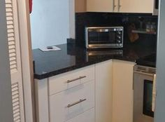 1345 Lincoln Rd. Apt. 604, Miami Beach, FL 33139 - Kitchen #kitchen #cabinets #countertopspace