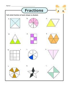 math worksheet : basic fractions practice  fractions fractions worksheets and  : Basic Fractions Worksheet