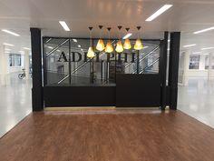 Adelphi - On floor Reception Mock Up