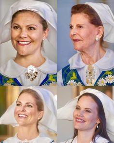 Swedish royal ladies attended the national day reception || 6 June 2017 Queen Silvia, Crown Princess Victoria, Princess Madeleine and Princess Sofia