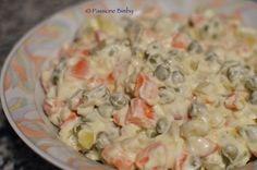 Per la maionese senza uova: 300 gr di olio di semi di girasole 150 gr di latte ½ cucchiaino di sale 2 cucchiai di succo di limone o aceto bianco 300 gr di
