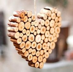 Top 10 Things To Make With Twigs and Branches I would make things from twigs, but my hearts not in it. #twigs #woodworking #Recycling