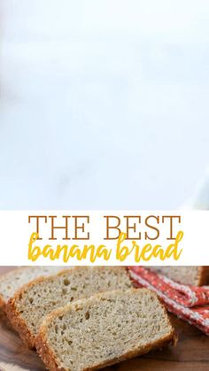 Homemade Banana Bread, Best Banana Bread, Banana Bread Recipes, No Yeast Bread, Bread Board, Recipe Steps, Banana Cream, Cream And Sugar, Bananas