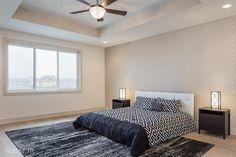 Furniture too modern but love the wallpaper!  5528 149th St, Urbandale, IA 50323 - realtor.com®