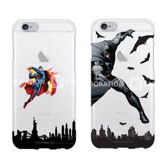 Authentic Superman Batman Clear Jelly Case iPhone 6 Case iPhone 6 Plus Case 4 #DCComics