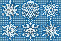 Don't Eat the Paste: A half dozen snowflakes to color