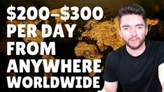 $200-$300/Day Work-From-Anywhere Jobs Worldwide 2021 Work From Home Careers, Video Notes, Jobs Hiring, Day Work