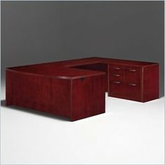 DMi Summit Right Personal File Bow Front U-Shape Wood Desk in Cherry (Assembled) by DMi Furniture. $3489.95. The Summit series are all about choices. Summit features a modified reeded edge with split nickel hardware or a radius coped edge with curved hardware. The basic pieces are offered either flat packed or assembled to suit your budget and needs.Constructed of wood, cherry veneers and other wood productsCherry finishCamlock construction with reinforcement connectors for maxim...
