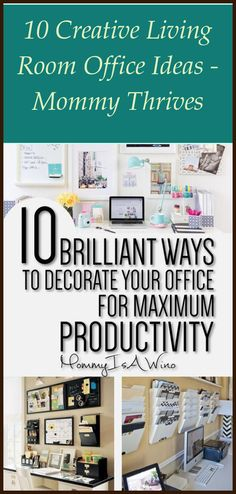 There are some people who use one of their rooms in the home being a place where they can conduct their work. Home offices have grown to be more popul... Home Office Organization, Home Office Desks, Organizing Your Home, To Do Checklist, Clutter Free Home, All Purpose Cleaners, Up House, Home Free, Working Area