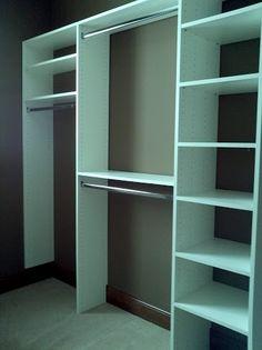 LDK Melamine Closet Built In